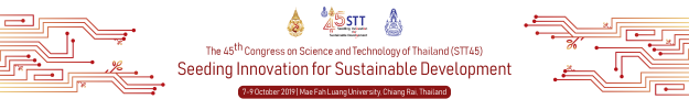 The 45th Congress on Science and Technology of Thailand (STT 45), MFU